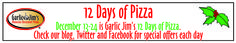 """Polar Bear Winners in our """"12 Days of Pizza"""" Holiday Celebration"""