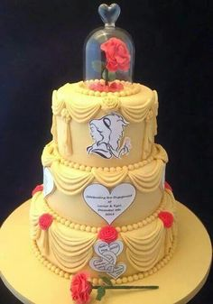 Cake Topper Disney La Bella Y La Bestia : 1000+ images about Bella y Bestia on Pinterest Belle ...