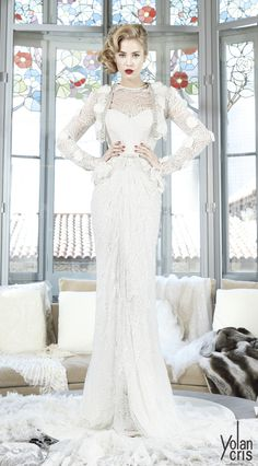wedding-dress-lace-unique-original-couture-Barcelona-barcelona-bridal-gown-exclusive-design-yolan-cris.jpg (627×1134)