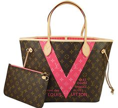 Louis Vuitton Neverfull MM Monogram V Grenade M41602 Handbag  Handbags   Amazon.com 1758630d23a77