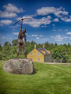 "Fruitlands, Harvard, MA, National Historic Landmark, Photo: Dave Lemieux: This New England farmhouse was home to Bronson Alcott's ""New Eden"" experiment in communal living. Alcott, a leader in education reform, Transcendentalist & social philosopher, persuaded 15 others (including his family of six, including daughter Louisa May) to join in June 1843. They ate only fruits & vegetables, drank only water & wore only linen clothing. They left after several months & the Alcotts departed in Jan 18..."