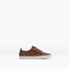 Image 1 of PLIMSOLLS WITH CAP TOE DETAIL from Zara