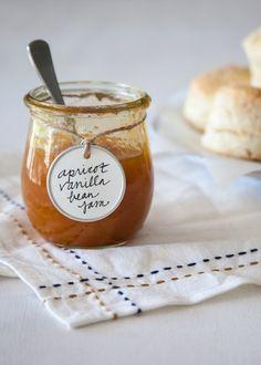 Recipe: Apricot-Vanilla Bean Jam — Gift It!
