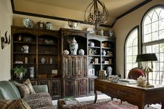 McCroskey Interiors - traditional - home office - kansas city - McCroskey Interiors