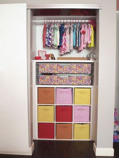 IHeart Organizing: Reader Space: A Creative Kid's Closet