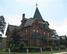 P. H. Glatfelter House, Spring Grove, Pa., circa 1887 by Cosmos Mariner, via Flickr