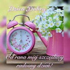 Dla każdego: DZIEŃ DOBRY Watering Can, Alarm Clock, Pictures, Home Decor, Facebook, Good Morning, Polish, Projection Alarm Clock, Photos