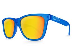 Blue Haze Solar Mirrored Sunglasses – Faded Days