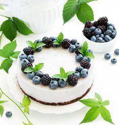 Dessert Decoration, Cake Decorations, Cake Decorating Tips, Panna Cotta, Wedding Cakes, Cheesecake, Birthday Cake, Sweets, Cake Stuff