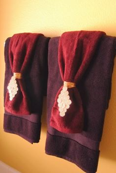 Decorating Ideas For Towels. Decorative Bathroom ...
