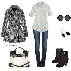 On the Streets of London, created by archimedes16 on Polyvore