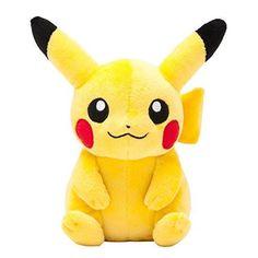 Pokemon Peluche Pikachu http://www.milideaspararegalar.es/producto/pokemon-peluche-pikachu/