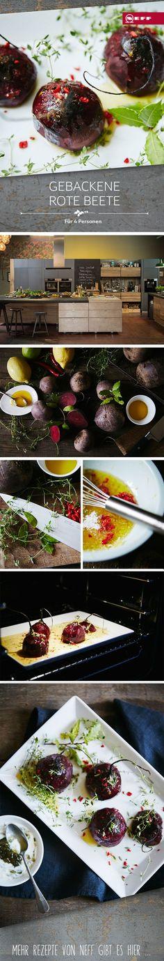 Gebackene Rote Beete aus dem Backofen – geht fix, ist gesund und schmeckt einfach köstlich! Probiert unser Rezept aus!
