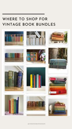 An easy way to shop for books by color bundles