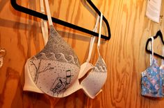 Sample of an artful bra featured at brazarrehouston.com