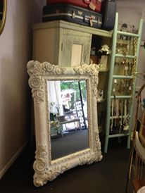 French Provincial Mirror Vintage