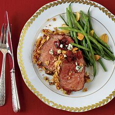 Herb-and-Potato Chip-Crusted Beef Tenderloin: Herb-and-Potato Chip-Crusted Beef Tenderloin gets added crunch with a flavorful coating of fresh herbs, panko breadcrumbs, and kettle-cooked potato chips [click for recipe]