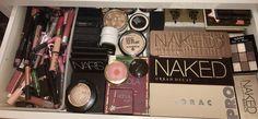 Makeup collection palettes urban decay lorac hooks bronzer benefit Mac NARS elf colourpop essence pure nude highlighter beauty