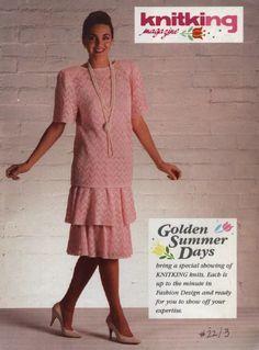 KnitKing Vol 18 No 1 1983 Magazine Machine Knit Patterns Articles /& More Vtg