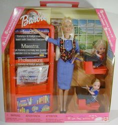 Teacher Barbie with Kelly and Tommy