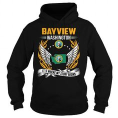 BAYVIEW, WASHINGTON - ITS WHERE MY STORY BEGINS T-SHIRTS, HOODIES (39.99$ ==► Shopping Now) #bayview, #washington #- #its #where #my #story #begins #shirts #tshirt #hoodie #sweatshirt #fashion #style