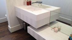 Decorative Panels, Cube, Sink, Interior, Design, Home Decor, Sink Tops, Vessel Sink, Decoration Home