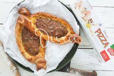 ΠΕΪΝΙΡΛΙ ΜΕ ΓΕΜΙΣΗ ΛΑΧΜΑΤΖΟΥΝ – Ντίνα Νικολάου Sausage, Meat, Food, Eten, Sausages, Meals, Diet