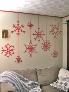 Popsicle Stick Snowflakes                                                                                                                                                                                 More