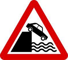 Singapore Road Signs - Warning Sign