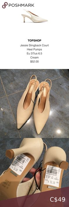 Topshop Slingback Heel Pumps 10/10 condition never worn Topshop Shoes Heels Topshop Shoes, Jessie, Pumps Heels, Character Shoes, Dance Shoes, Shop My, Closet, Things To Sell, Dancing Shoes