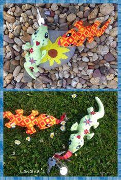 Amajasea: Suse & Heinz verliebte Geckos ITH Freebie für Euch
