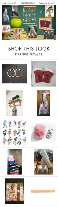"""""""Back to School"""" by cozeequilts ❤ liked on Polyvore featuring CAVO, Fiskars and rustic"""