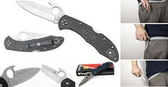 Spyderco Emerson Opener now at RM only! Specifications: length overall: mm) blade closed: mm) blade thickness: mm) blade length: mm) cutting edge: mm) handle material: FRN blade steel : weight: oz g) Gerber Bear Grylls, Spyderco Knives, Digital Lock, Cold Steel, Tactical Gear, Sports Equipment, Emerson, Firearms, Blade
