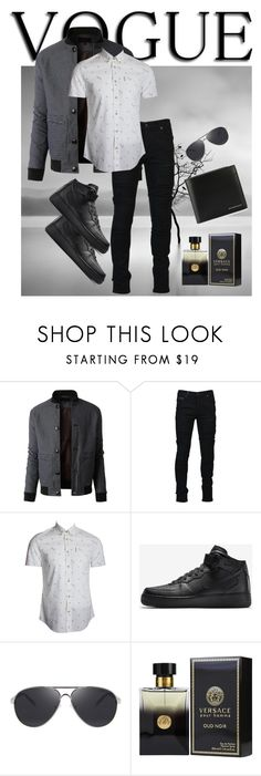 """Untitled #28"" by marielu1 ❤ liked on Polyvore featuring LE3NO, Marcelo Burlon, Ben Sherman, NIKE, PENHALIGON'S, Burberry, men's fashion and menswear"