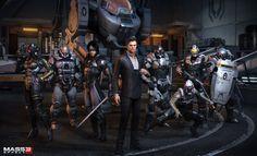 ArtStation - Mass Effect 3 , Rafael Grassetti
