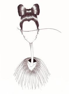 Fashion illustration by Amee Cherie