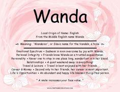 Wanda Name Meaning
