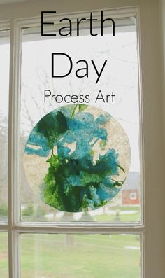 Earth Day process art craft for preschoolers!