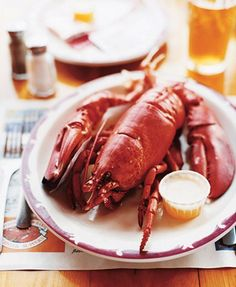 Fisherman's Wharf, on Rustico Bay in P., claims the world's largest lobster pen. Lobster Dinner, Canadian Things, Crab Shack, Prince Edward Island, Foods To Eat, Places To Eat, Fish Recipes, Soul Food, Brittany