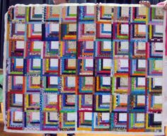 0103 WeComeInPieces CommunityService quilt made by my Wednesday sewing group (not just me).