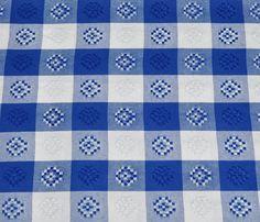 Gingham | Blue & White