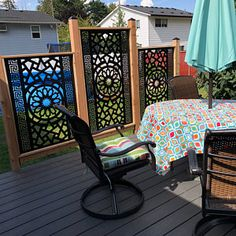 Modern Interior Railings/ Staircase Decorative Panel Inserts/ Metal Balusters/Metal Pickets/Custom Made/Outdoor or Indoor Patio Privacy Screen, Privacy Fence Designs, Privacy Screen Outdoor, Privacy Walls, Privacy Wall On Deck, Metal Garden Gates, Interior Railings, Outdoor Rooms, Outdoor Decor
