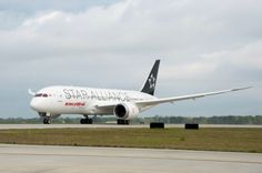 Air India Dreamliner (VT-ANU) first in world in Star Alliance livery