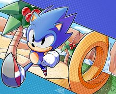 Sonic The Hedgehog SEGA Mega Drive Genesis Master System Game Gear Saturn Dreamcast Gamecube Wii Switch Xbox Playstation Kaito, Sonic Team, Classic Sonic, Sonic Mania, Sonic Franchise, Sonic Adventure, Hedgehog Art, Sonic And Shadow, Sonic Fan Art