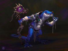 Aldis, Warlock version on Behance