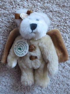 Boyds-Bear-Cassie-Angel-Bearware-Stuffed-Animal-with-Tags