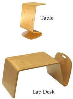 Is it a lap desk? It a side table? Both!