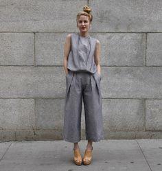 Street Style Grey Look