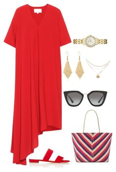 """""""Untitled #143"""" by directioner-af-daily ❤ liked on Polyvore featuring Maison Margiela, Barneys New York, Banago, Prada and Kate Spade"""