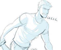 "Jason ""raised by wolves"" Grace - art by Minuiko / Heroes of Olympus //"
